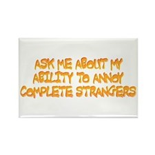 annoy ability Rectangle Magnet