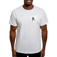 Skating Icon Ash Grey T-Shirt