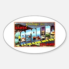 Catalina Island California Greetings Decal