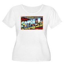 Catalina Island California Greetings (Front) Women