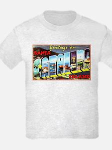 Catalina Island California Greetings T-Shirt