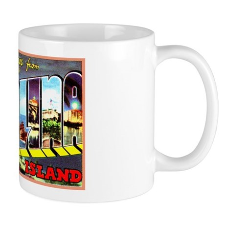 Catalina Island California Greetings Mug