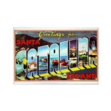 Catalina Island California Greetings Rectangle Mag