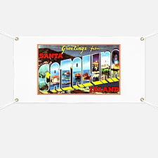 Catalina Island California Greetings Banner