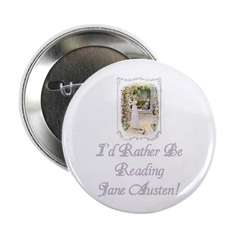 """Rather be Reading J.A. 2.25"""" Button (100 pack)"""