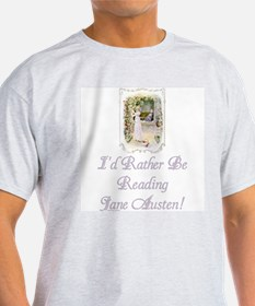 Rather be Reading J.A. T-Shirt