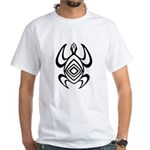 Turtle Symmetry White T-Shirt