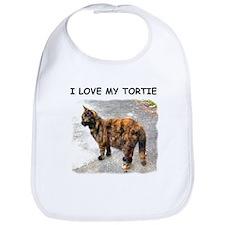 I Love My Tortie Bib