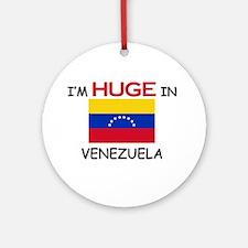 I'd HUGE In VENEZUELA Ornament (Round)