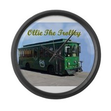 AFTM Ollie The Trolley Large Wall Clock