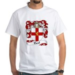 Duval Family Crest White T-Shirt