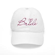 Hearts Bride Baseball Cap