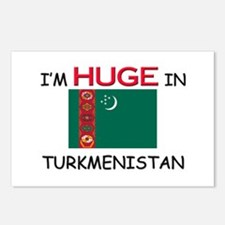 I'd HUGE In TURKMENISTAN Postcards (Package of 8)