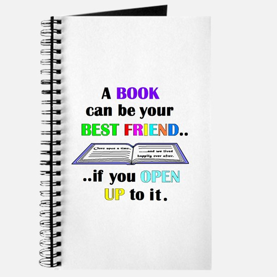 A BOOK CAN BE YOUR BEST FRIEN Journal