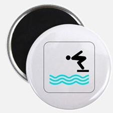 Diving Icon Magnet