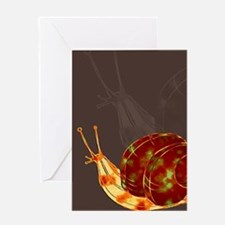 Snail Katatsumuri Greeting Card