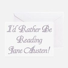 Rather be Reading J.A. Greeting Cards (Pk of 10)