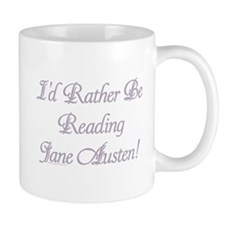 Rather be Reading J.A. Coffee Mug