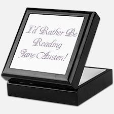Rather be Reading J.A. Keepsake Box