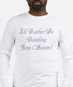 Rather be Reading J.A. Long Sleeve T-Shirt