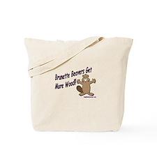 Brunette Beavers Get More Woo Tote Bag