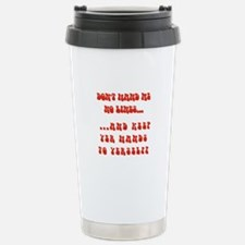 Hands To Yerself Travel Mug