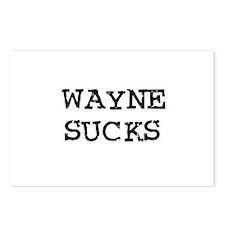 Wayne Sucks Postcards (Package of 8)