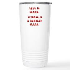 Love Is Grand Travel Mug