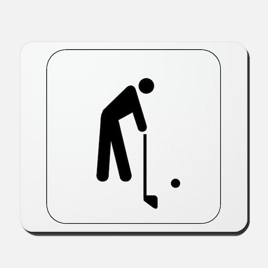 Golf Icon Mousepad