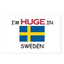 I'd HUGE In SWEDEN Postcards (Package of 8)