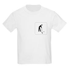 Golf Icon Kids T-Shirt