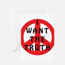 I Want The Truth Greeting Cards (Pk of 10)