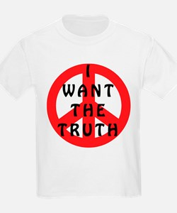 I Want The Truth Kids T-Shirt