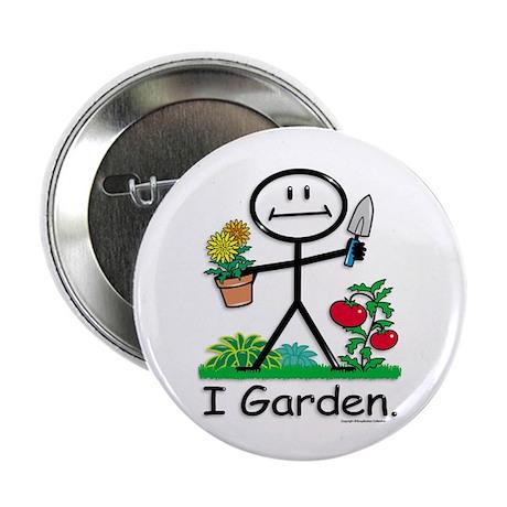 """BusyBodies Gardening 2.25"""" Button (10 pack)"""