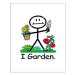 BusyBodies Gardening Small Poster