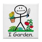BusyBodies Gardening Tile Coaster