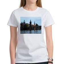 Crusing along the Vtlava River in Prague Tee