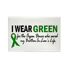 I Wear Green 2 (Brother-In-Law's Life) Rectangle M