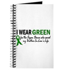 I Wear Green 2 (Brother-In-Law's Life) Journal