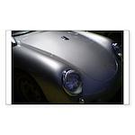 Porschescape Rectangle Sticker 10 pk)