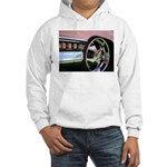 Pink Cadillac Hooded Sweatshirt