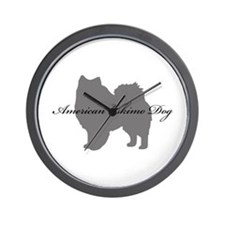 American Eskimo Dog Wall Clock