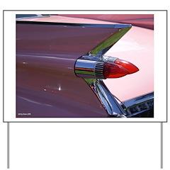 Pink Cadillac II Yard Sign