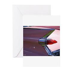 Pink Cadillac II Greeting Cards (Pk of 10)