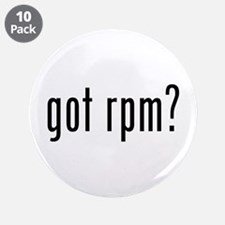 """got rpm? 3.5"""" Button (10 pack)"""