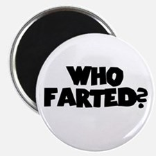 """Who Farted? 2.25"""" Magnet (100 pack)"""