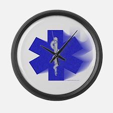 Hard Core Medicine Clothing Large Wall Clock