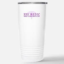 Purple Caduceus Travel Mug