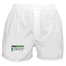 I Wear Green 2 (Sister-In-Law's Life) Boxer Shorts