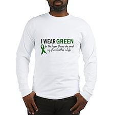 I Wear Green 2 (Grandmother's Life) Long Sleeve T-